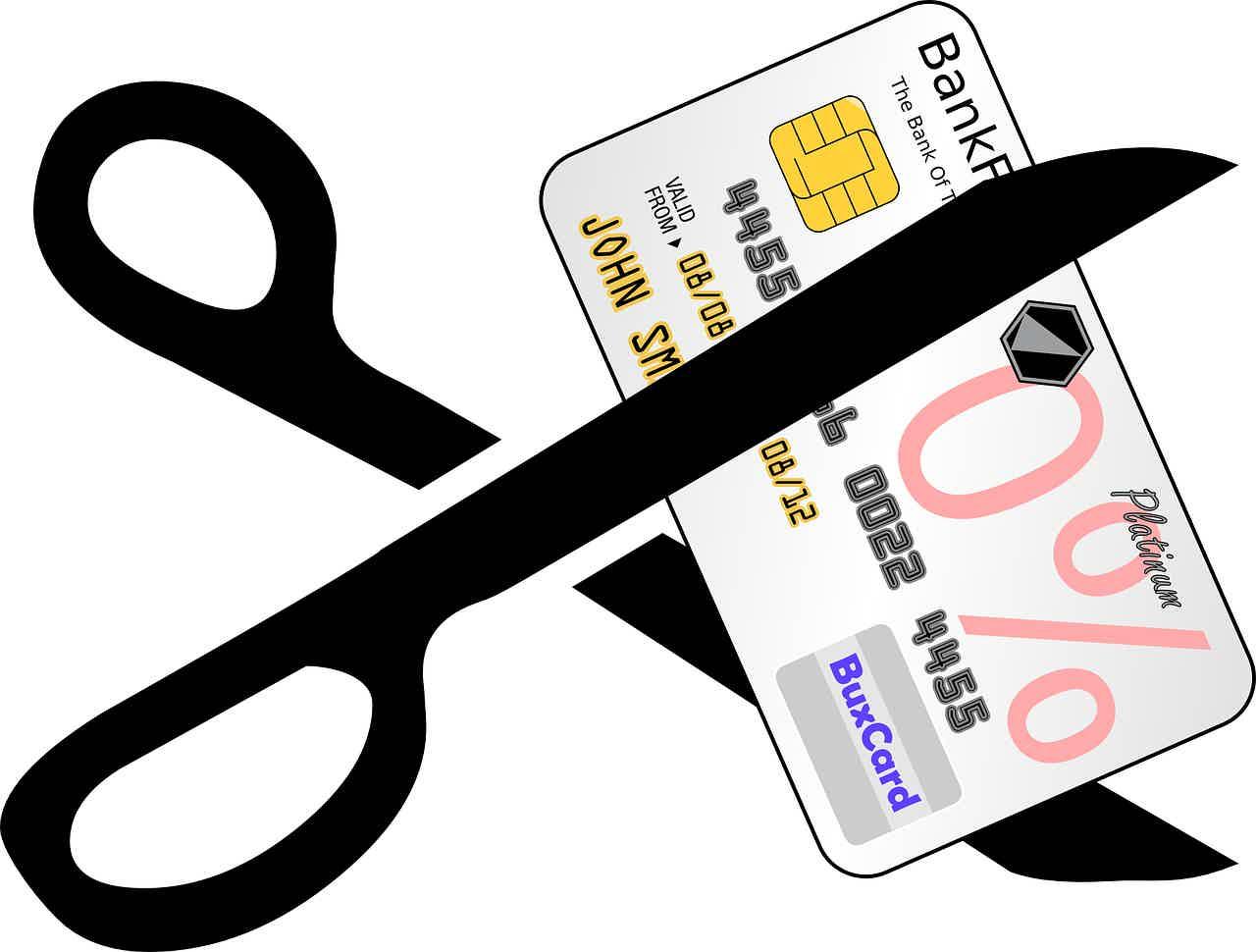 Como sair das dívidas com o cartão.