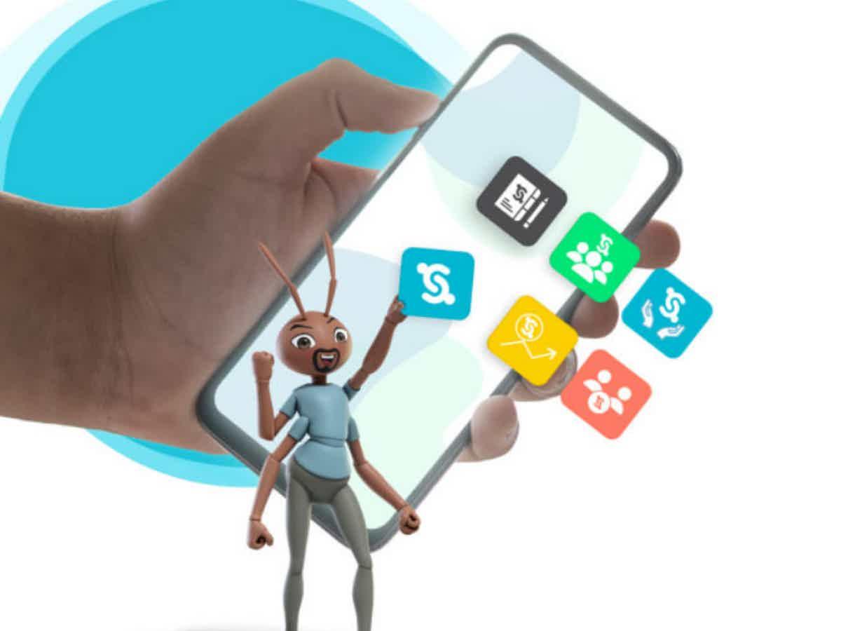 Abra a sua conta digital Social Bank.