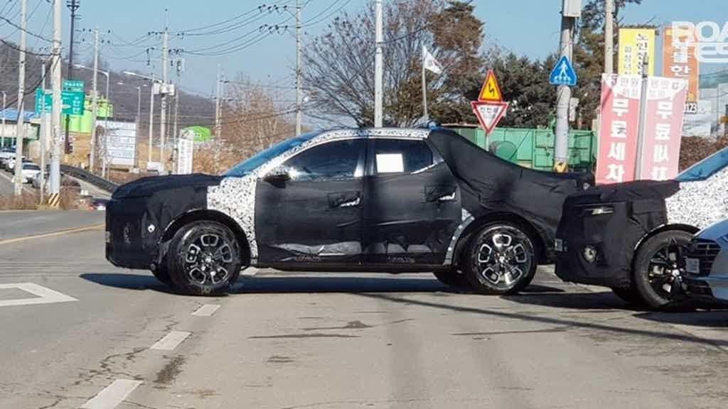 Hyundai Santa Cruz testes