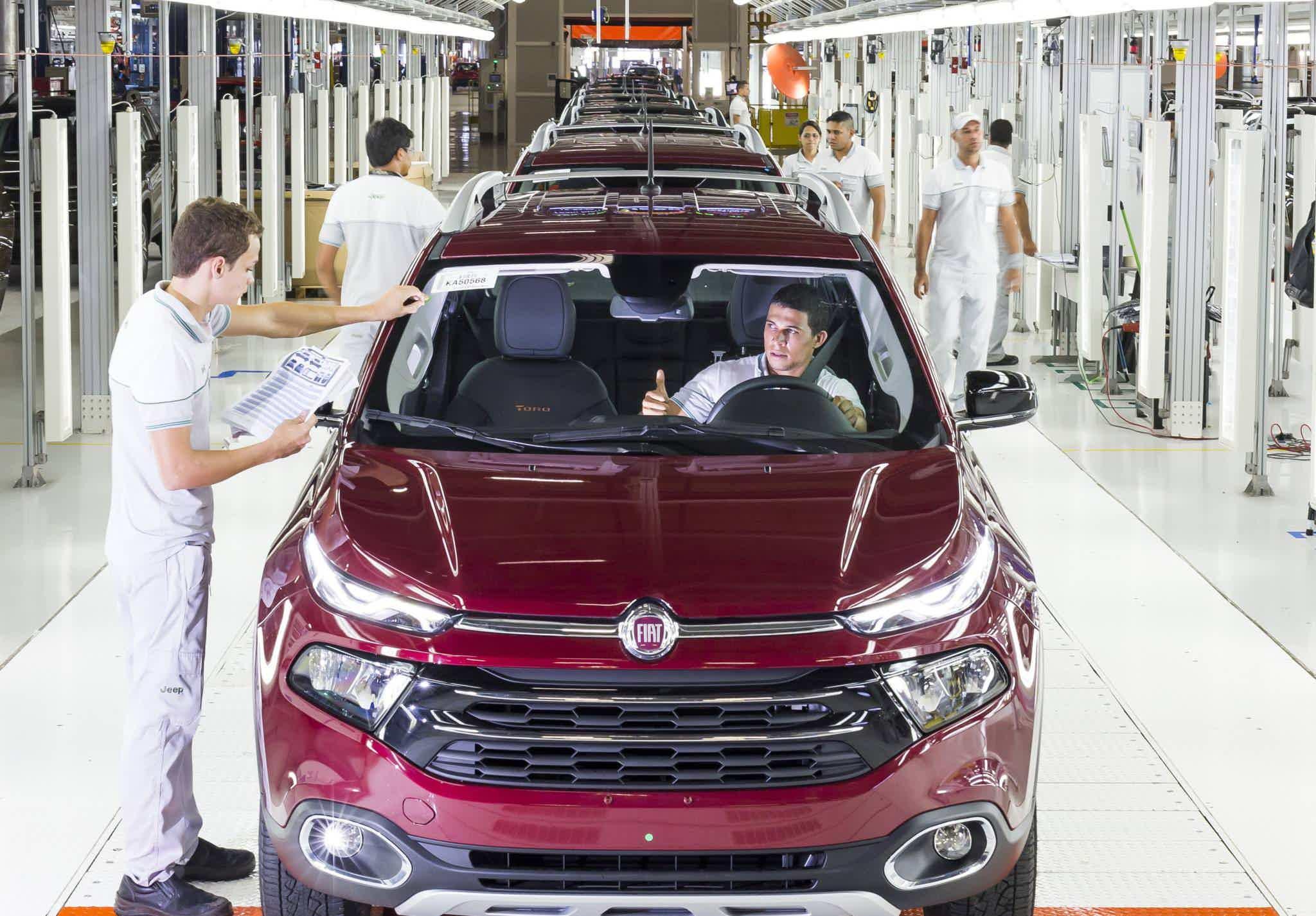 Fiat Toro Projeto