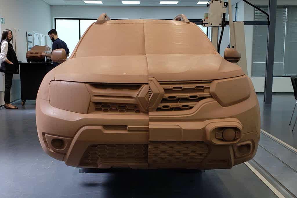 Renault Duster argila