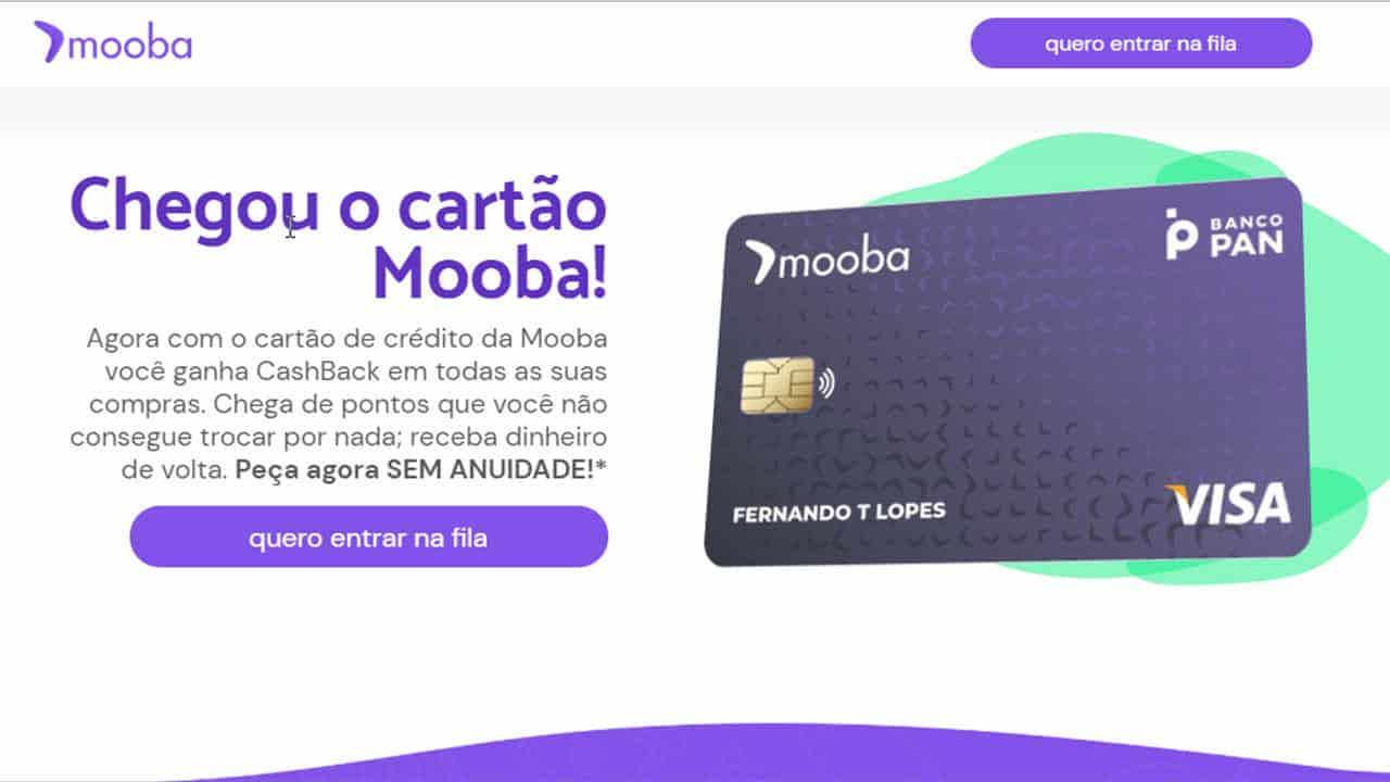 5 vantagens do cartão Mooba