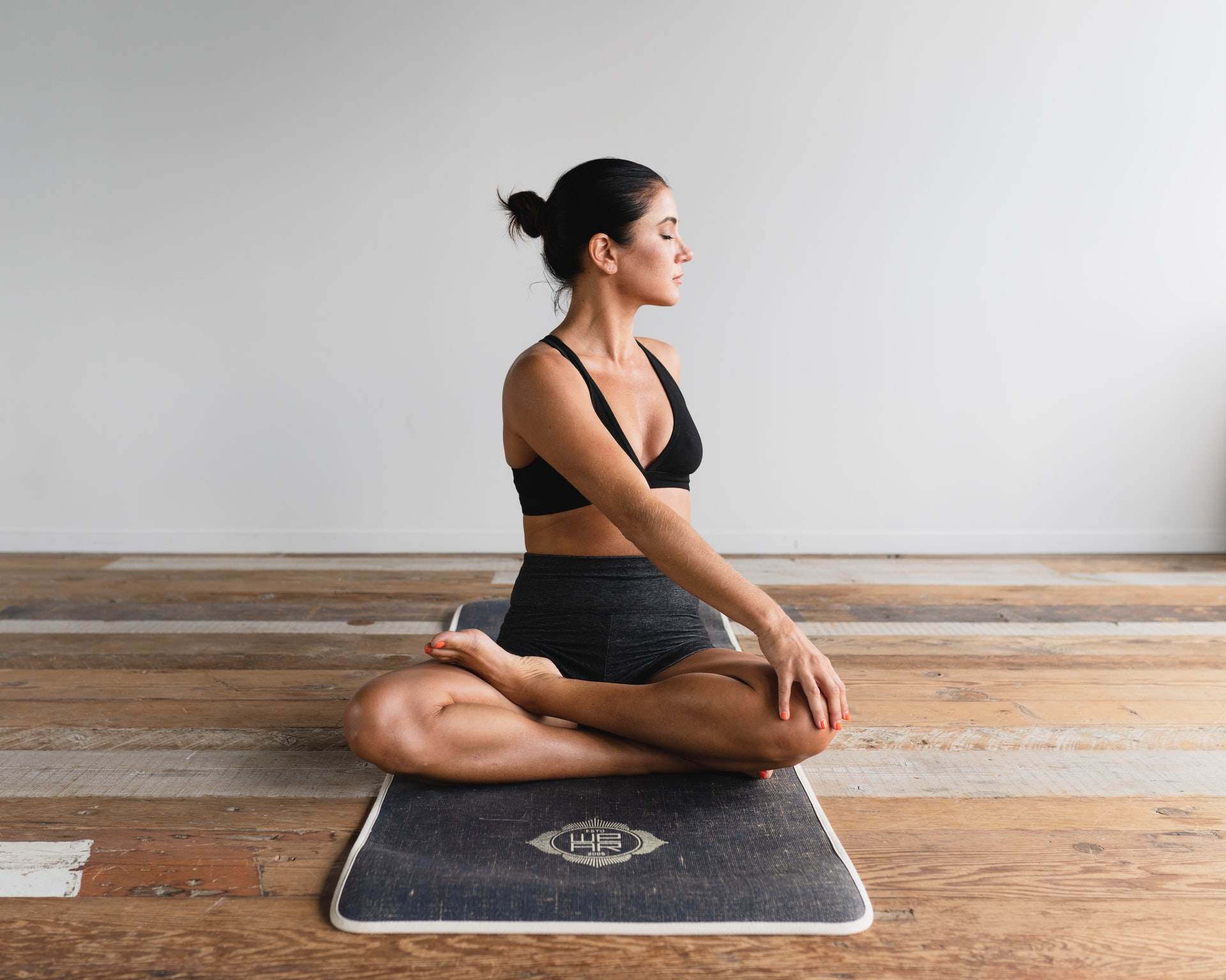 Professora de yoga