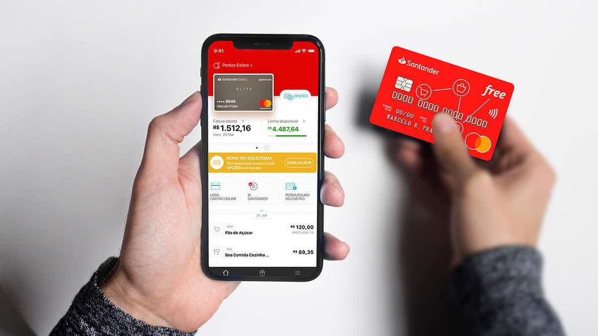 Como solicitar o cartão Santander Free?