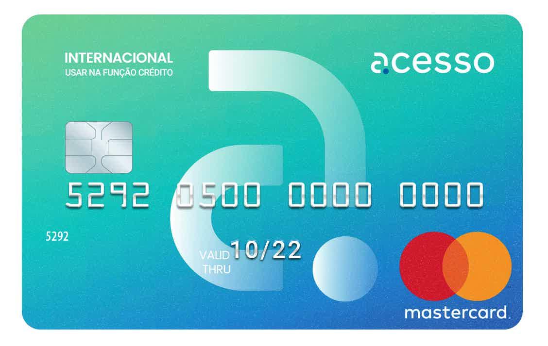 Cartão pré-pago Acesso