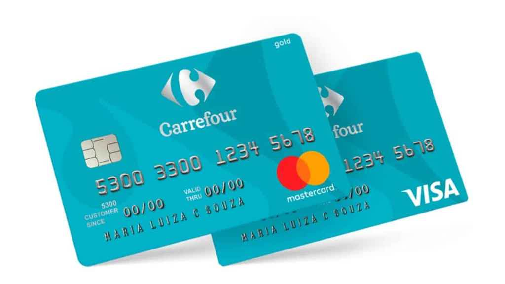Tipos de cartão de crédito Carrefour