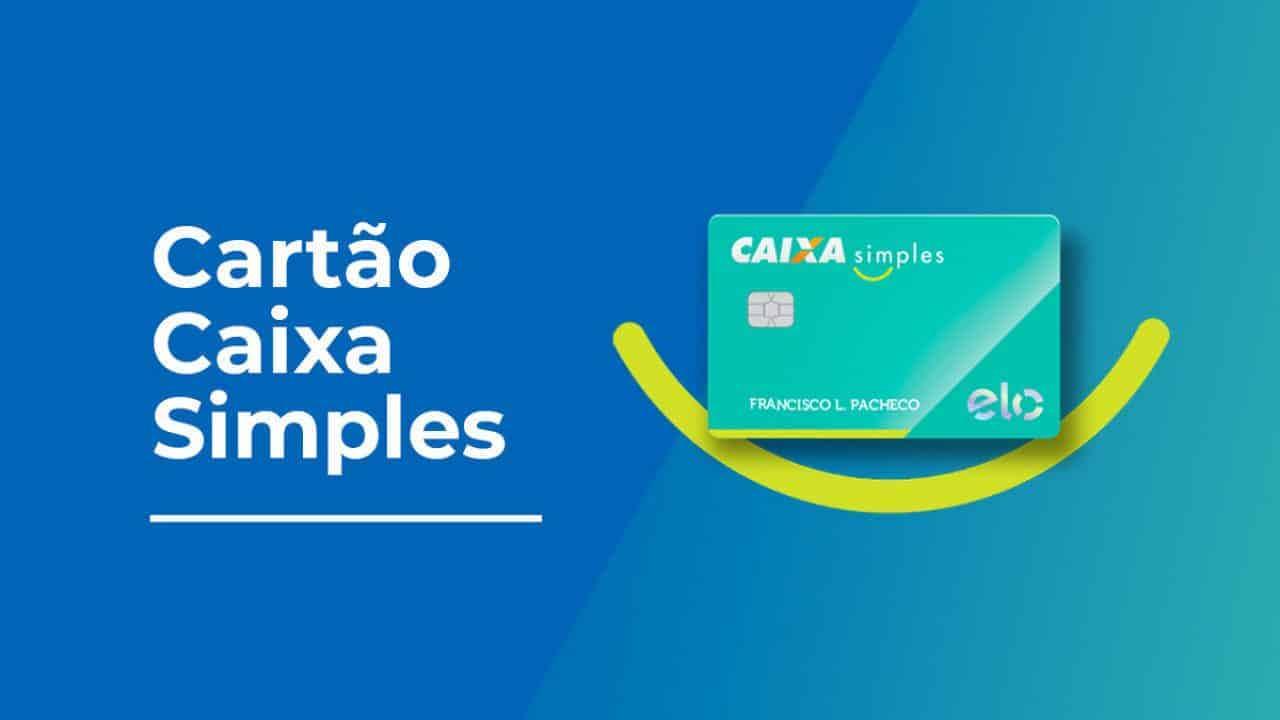 O Cartão Caixa Simples é a solução para quem precisa de um pequeno crédito.