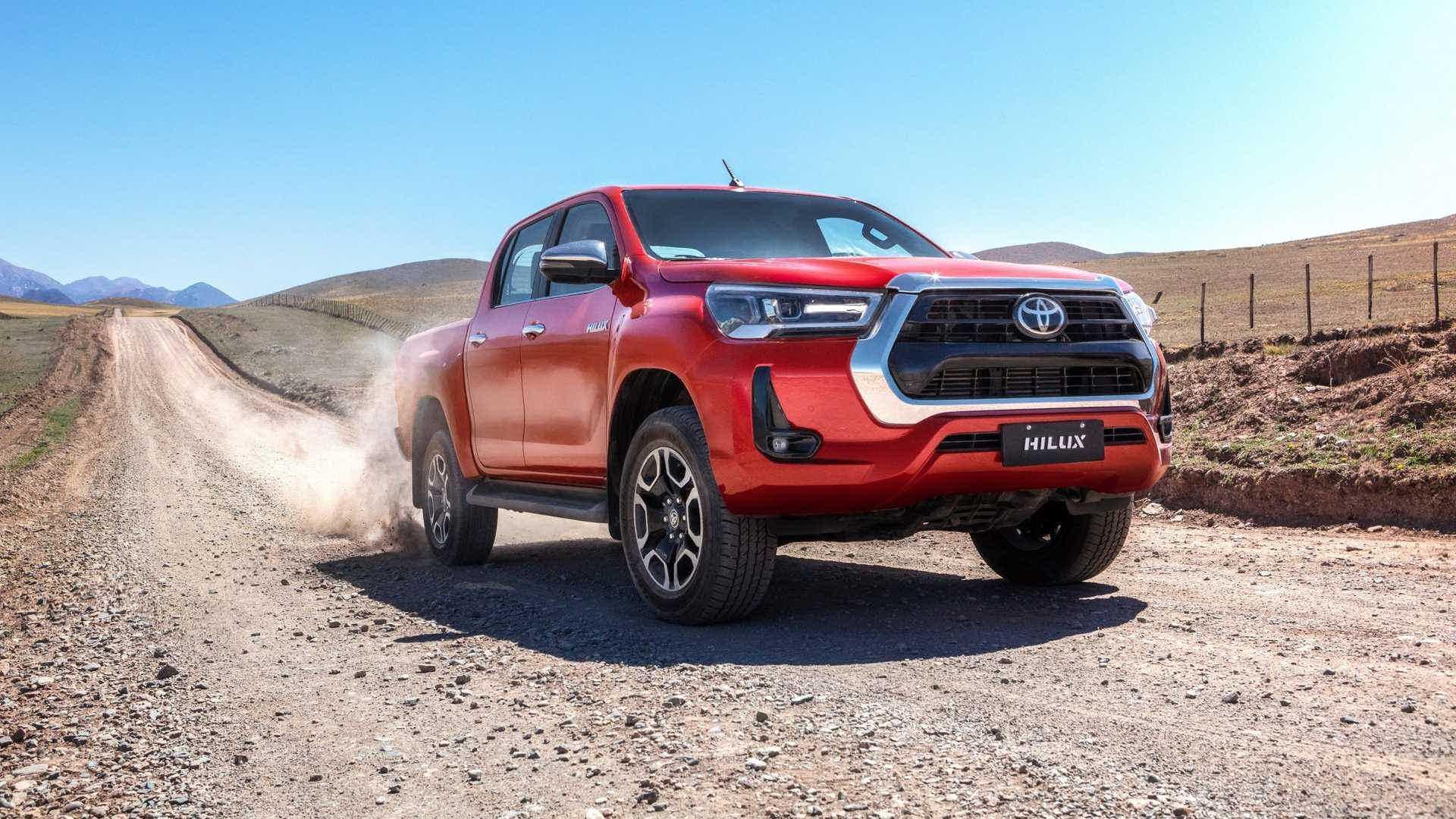 prós e contras da Toyota Hilux