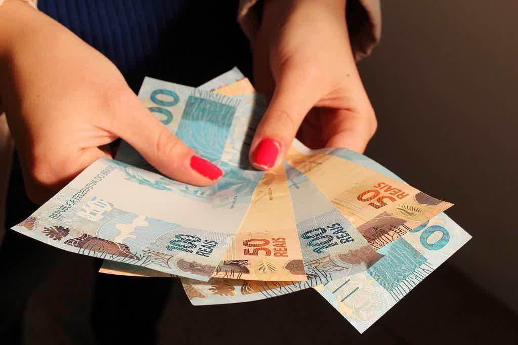 Saque de dinheiro