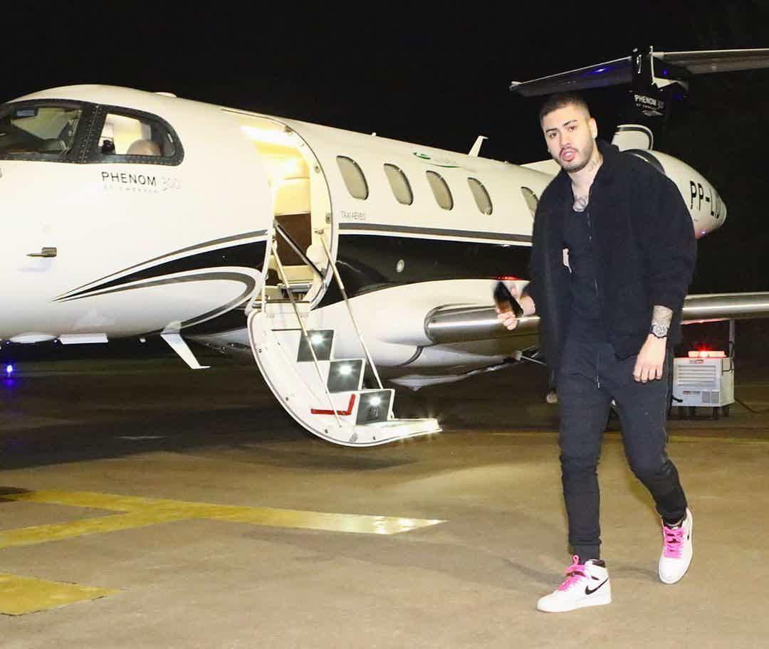 Kevin é um dos brasileiros que têm o seu próprio avião