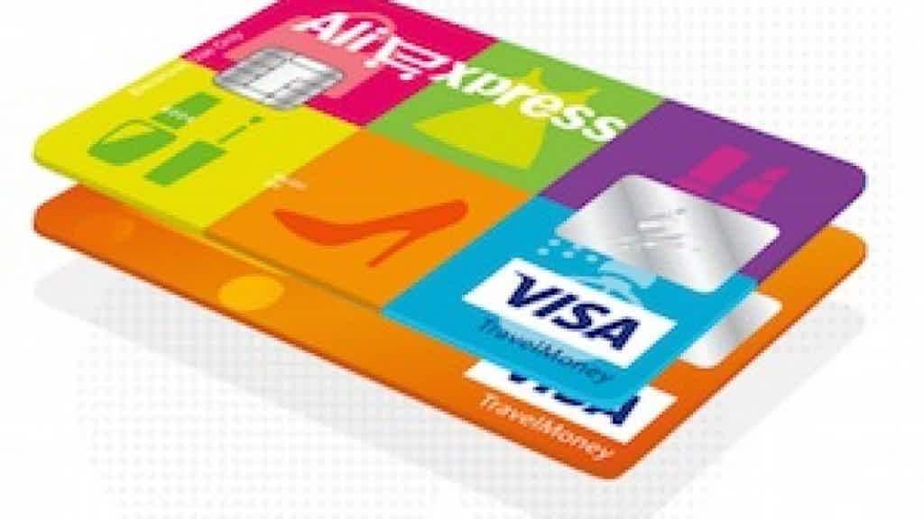 Cartão de crédito AliExpress