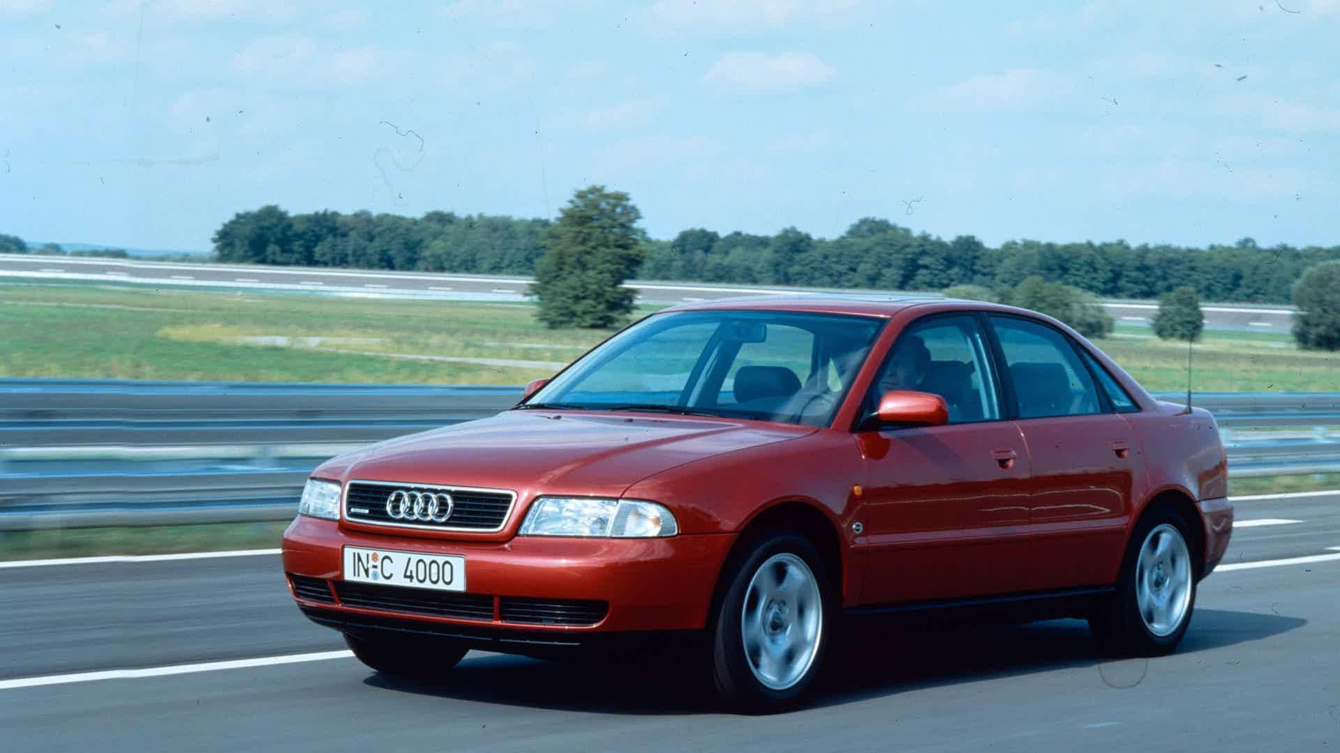 Audi A4 foi lançado em 1994