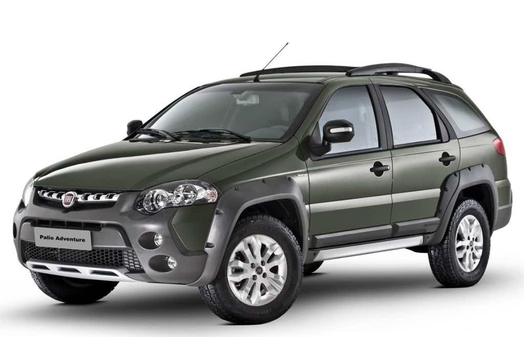 Fiat Palio Weekend adventure 1.8 Flex 2015