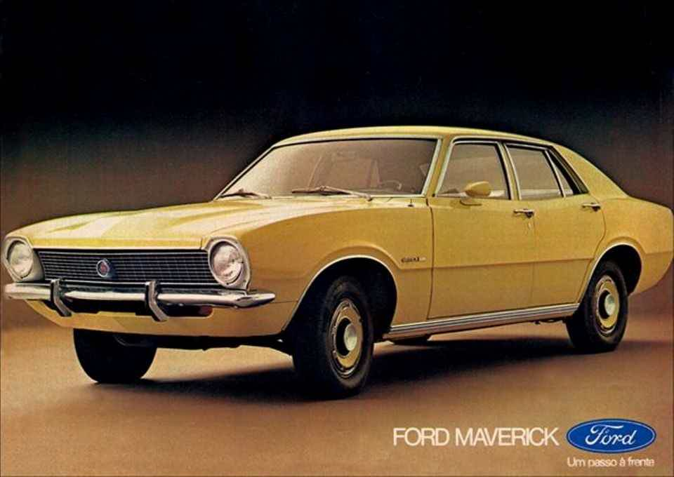 Ford Maverick 4 portas