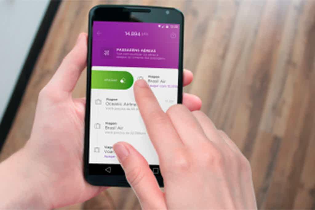 Nubank, um dos melhores aplicativos de cartão de crédito