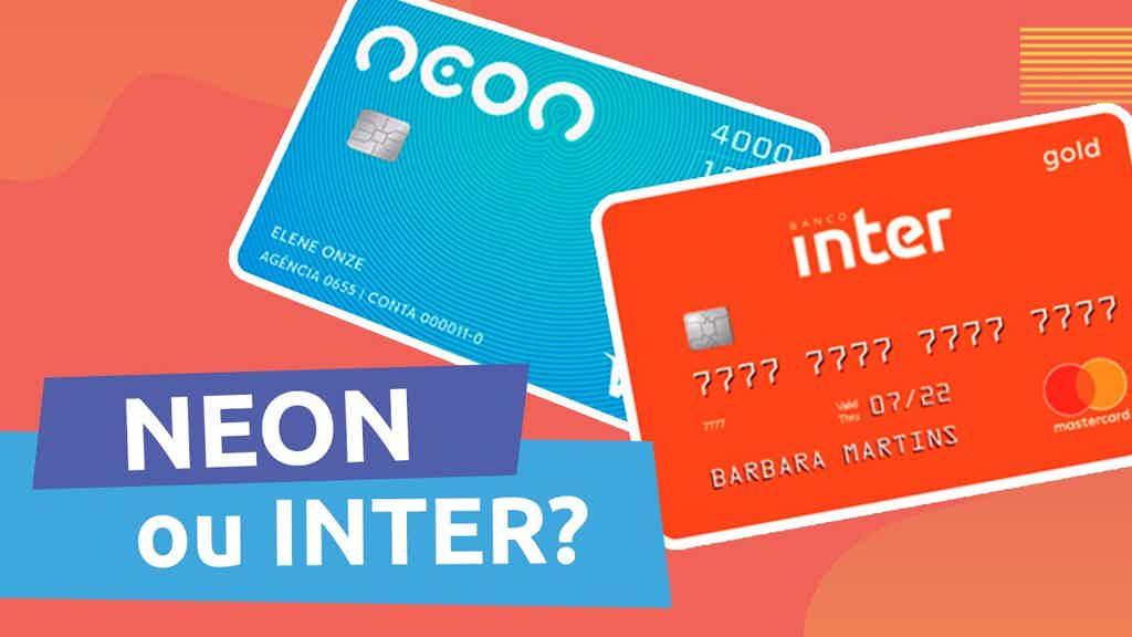 Inter ou Neon: qual a melhor conta digital?