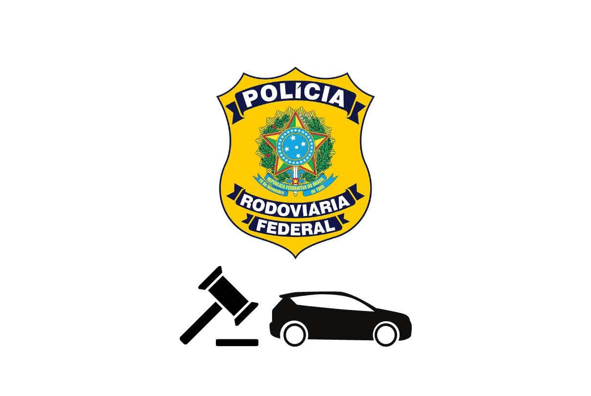 Leilão de veículos da Polícia Rodoviária Federal