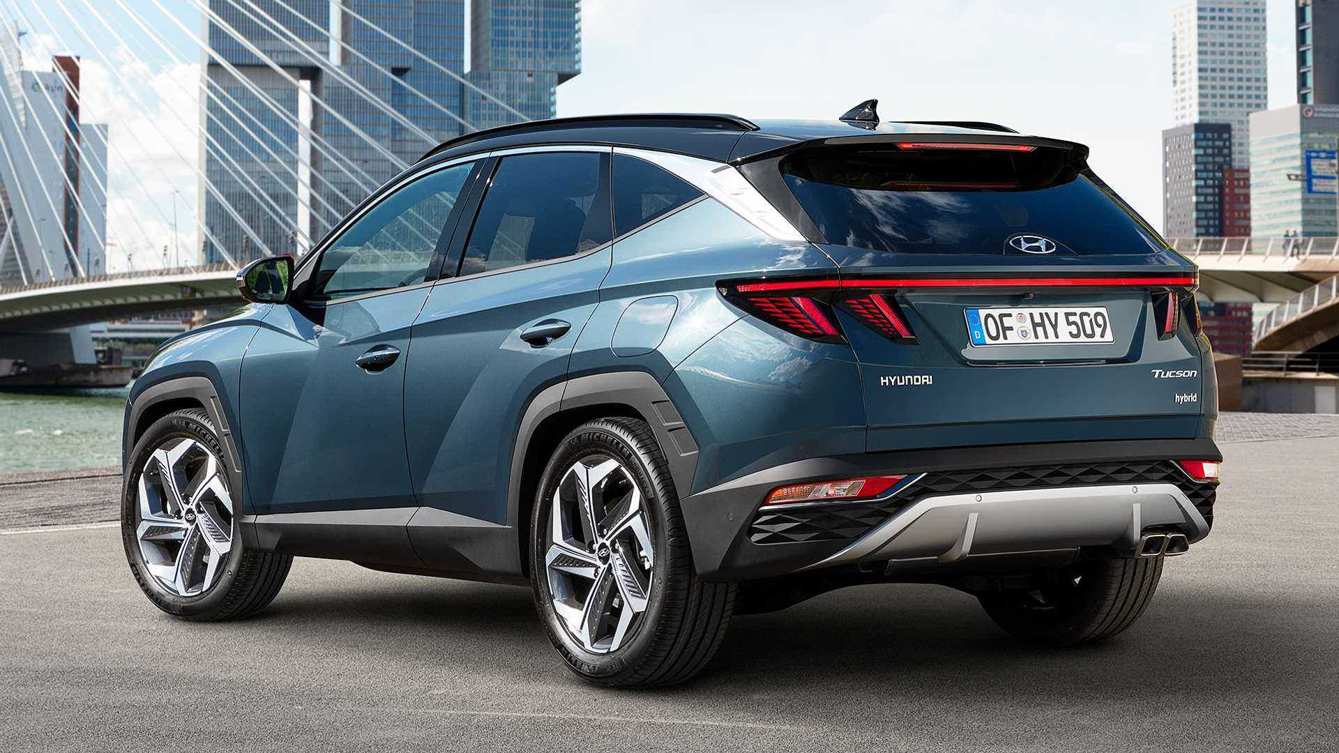 Traseira Hyundai Tucson 2021