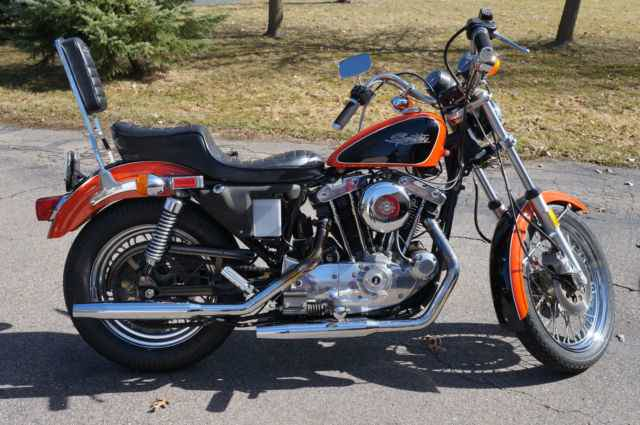 Harley Davidson Sportster 1981