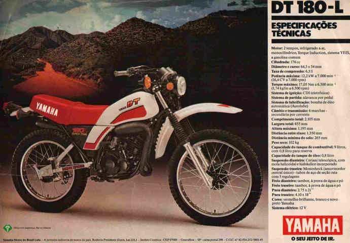 Yamaha DT 180 1981