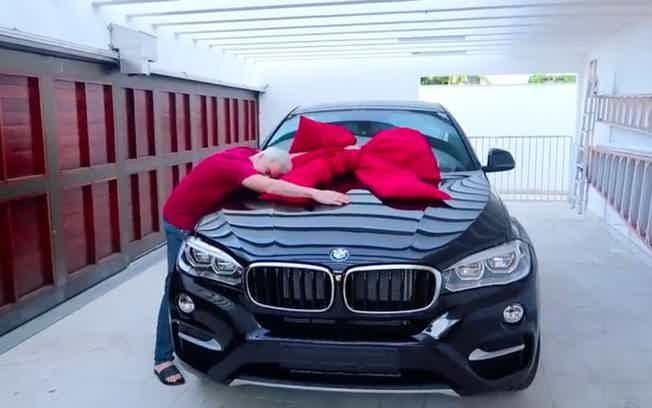 Felipe Neto: BMW X6