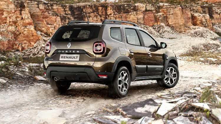 Renault Duster 2021 mesma plataforma