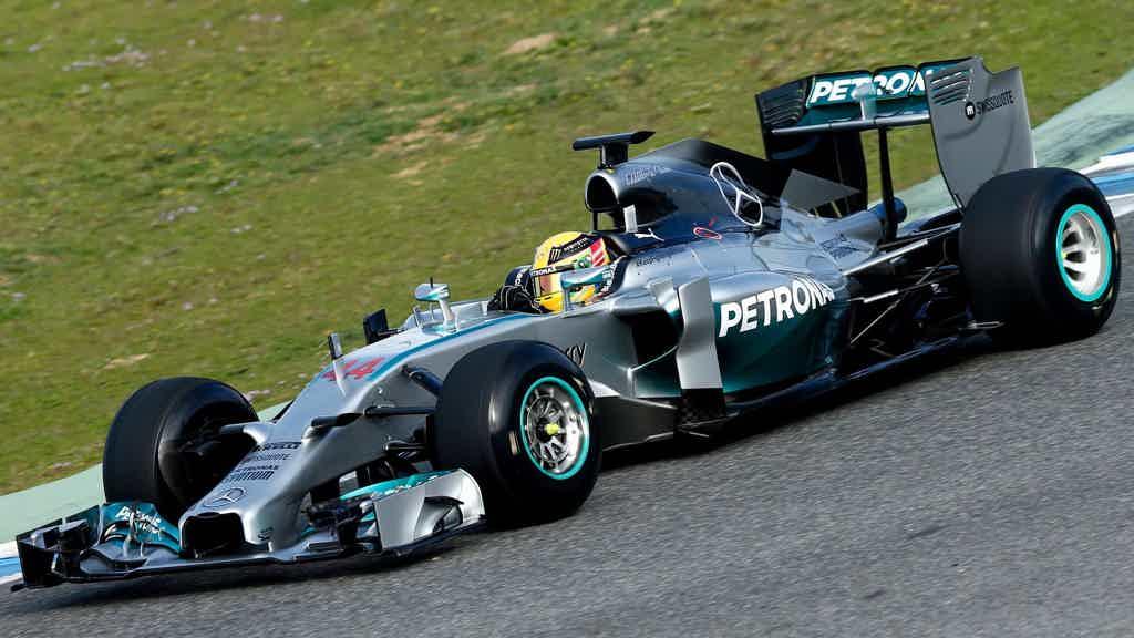 Mercedes W05 Hybrid