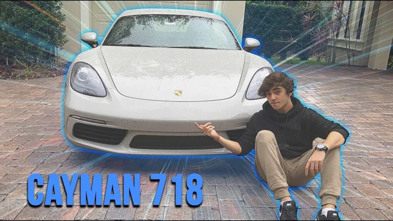 Luca Bueno: Porsche Cayman 718