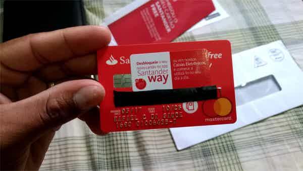 Vantagens do cartão Santander Free