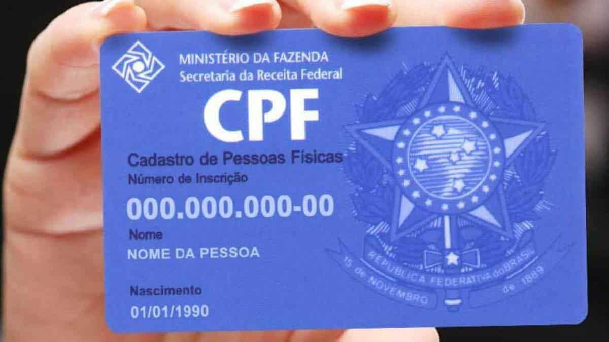 Para quem se destina o CPF?