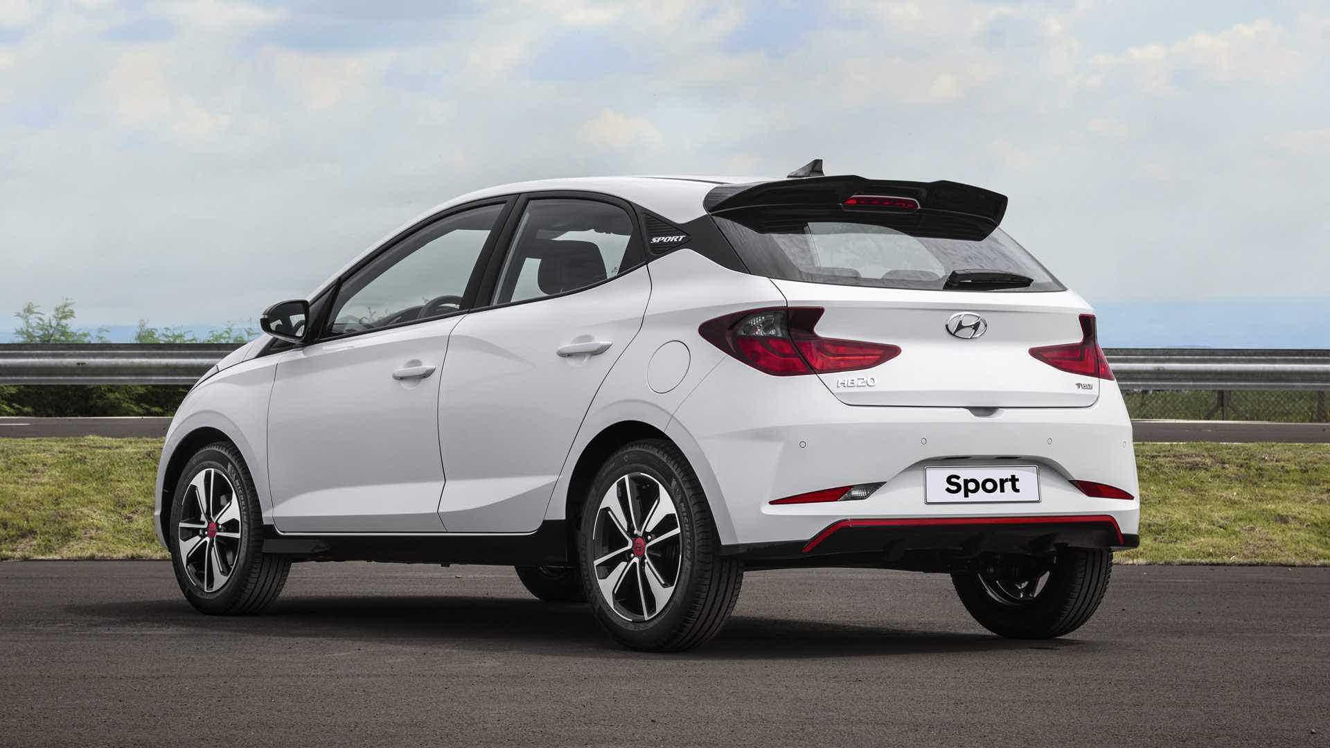 Hyundai HB20 Sport traseira