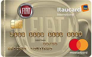 Cartão de crédito Fiat Itaucard 2.0