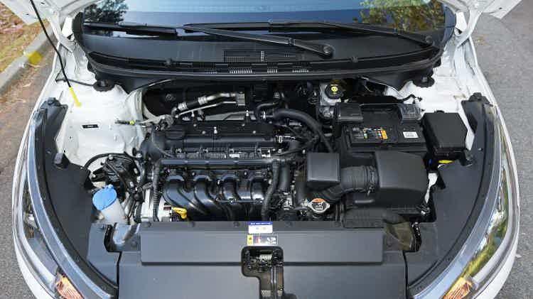 Hyundai HB20X 2020 motor