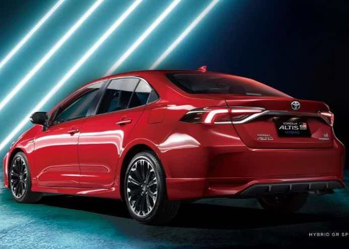 Toyota Corolla GR Ssport traseira