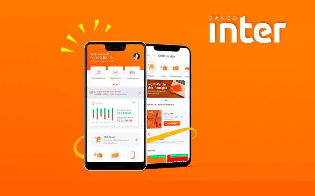 Inter, um dos melhores aplicativos de cartão de crédito