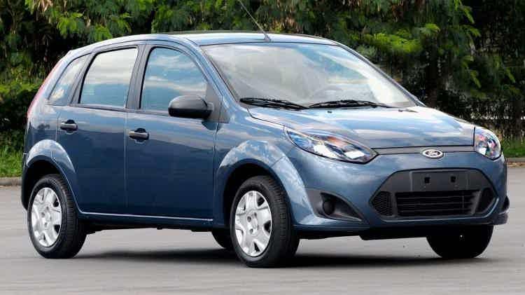 Ford Fiesta com Motor Zetec Rocam
