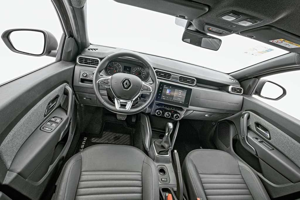 Renault Duster 2021 pacotes
