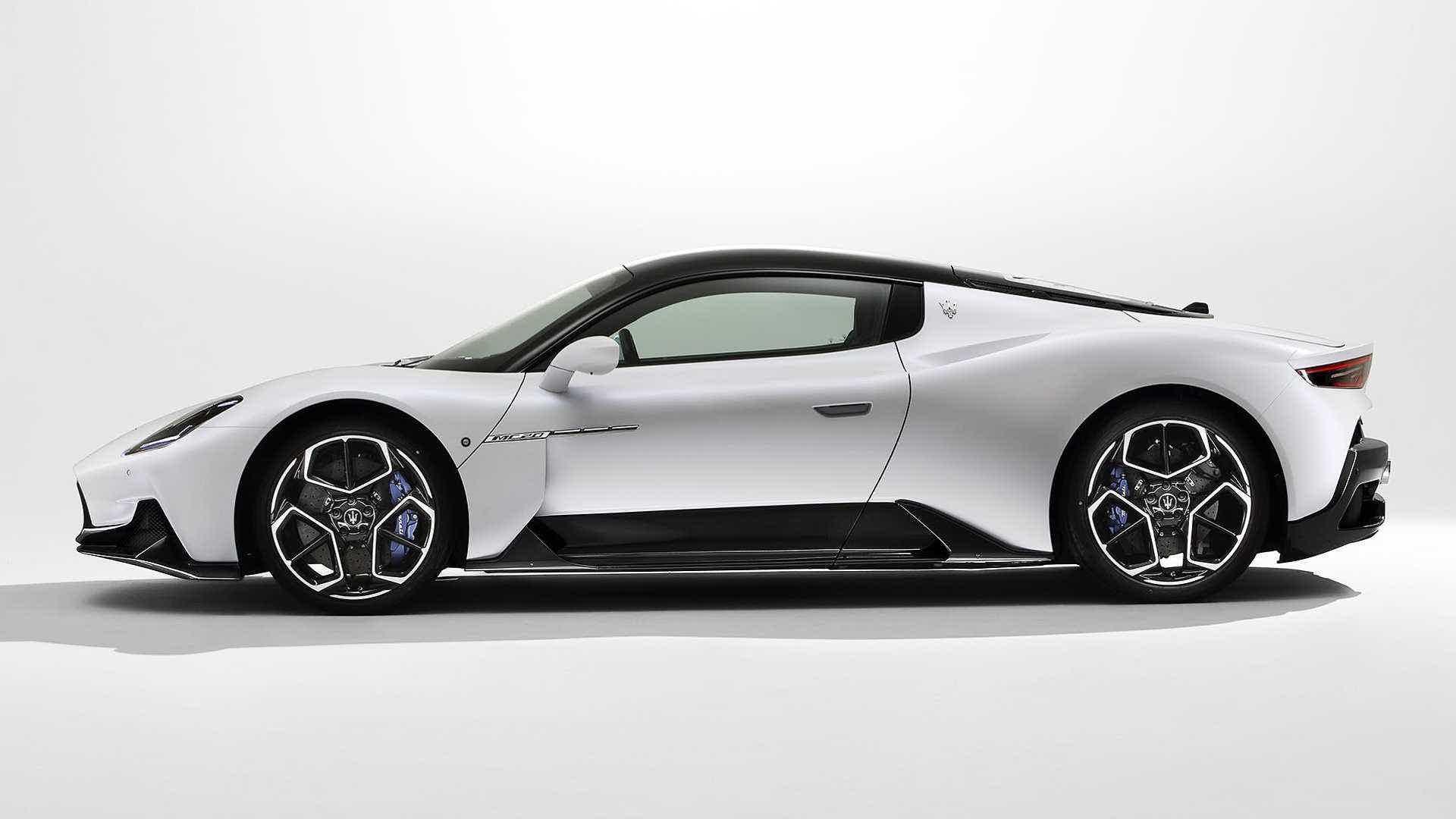 Design Maserati MC20