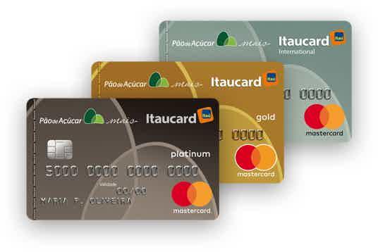 cartão de crédito pão de açúcar Internacional