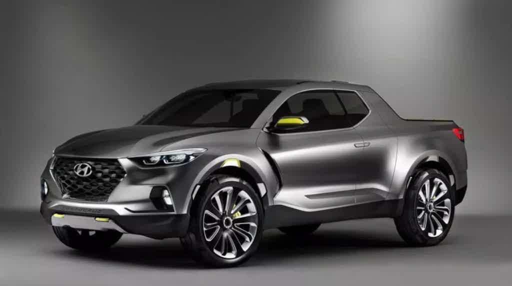 Hyundai Santa Cruz frente