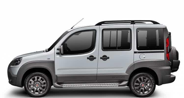 Fiat Doblo Adventure Tryon Locker 1.8 2018