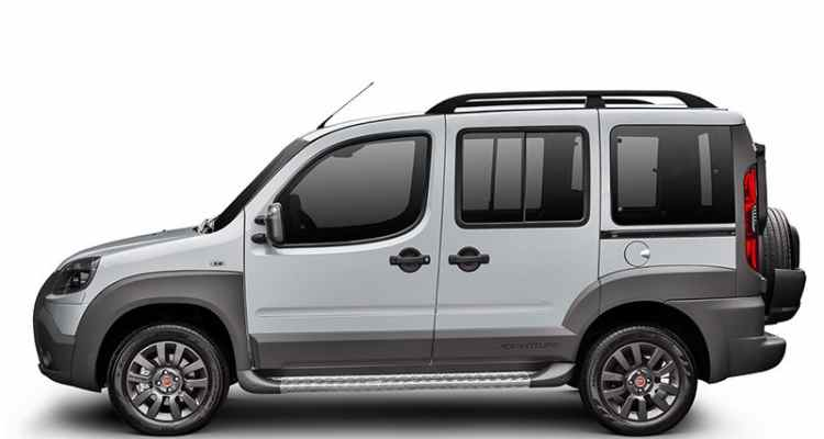 Fiat Doblo Adventure Tryon Locker 1.8 2018