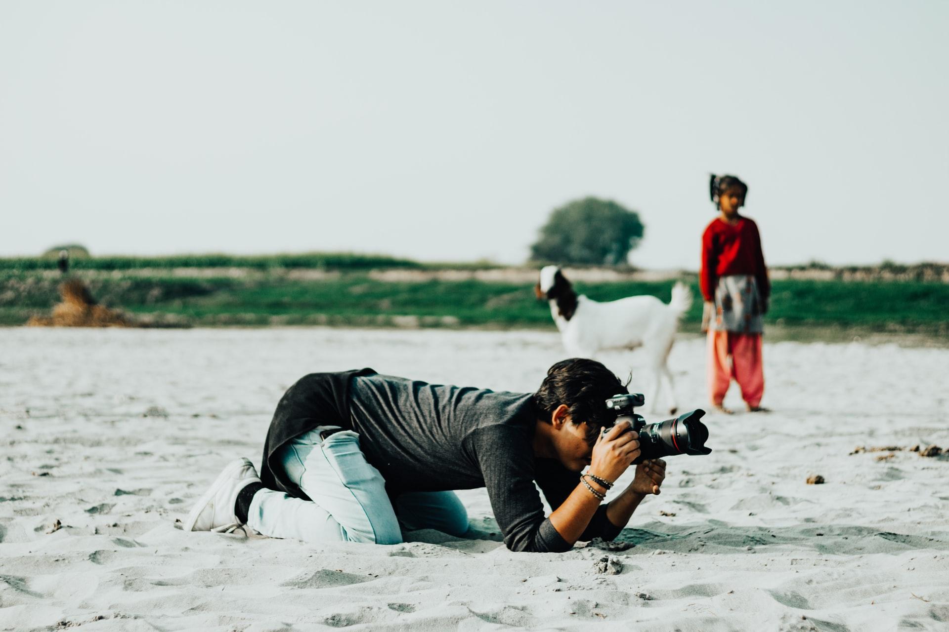 Curso de fotografia de autorretrato para iniciantes Domestika