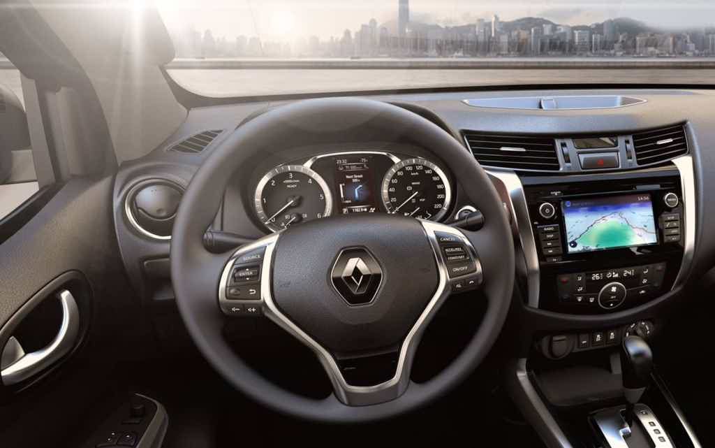 Renault Alaskan painel